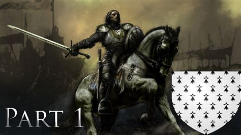 Let's Play Crusader Kings 2 Kingdom Of Brittany Part 1