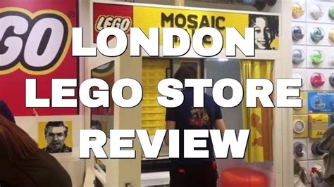 Tour of London's LEGO Store in Leicester Square - Mosaic