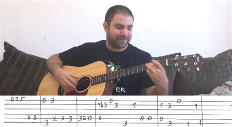 Fingerstyle Tutorial: Stand By Me - w/ TAB (Guitar Lesson