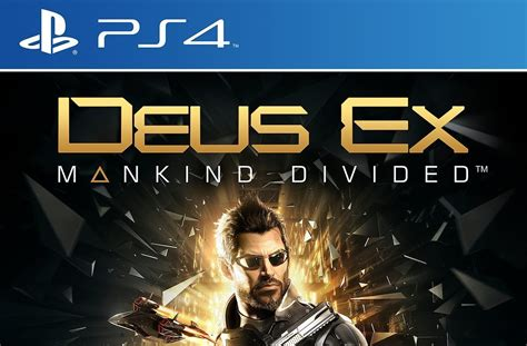 Deus Ex: Mankind Divided Gets Lovely Official Box Art for