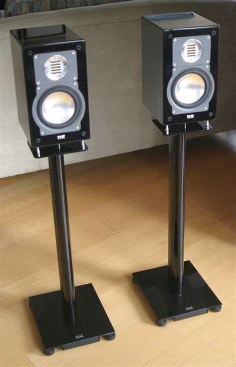 Elac BS 203 Anniversary Edition Speakers /w LS 70 stands