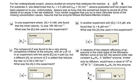 Solved: For Her Undergraduate Project, Jessica Studied An
