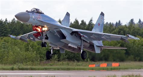 Su-35S at Its Finest: Advanced Fighter Which Started Its