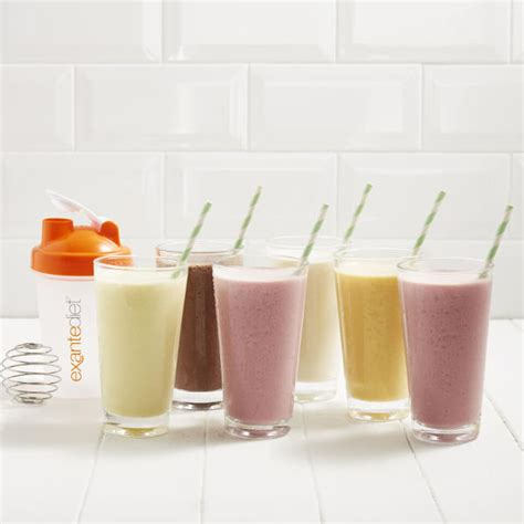 Meal Replacement 4 Week Mixed Shakes Pack | Exante UK