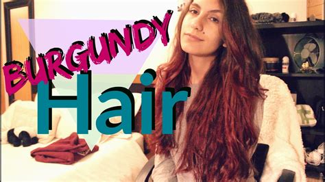 L'OREAL COLORISTA WASHOUT | BURGUNDY COLOR REVIEW