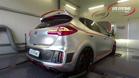 KIA cee'd GT: chip tuning and dyno test at DTE Systems