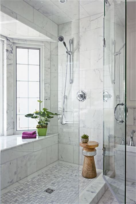 Light-Filled, Private Shower | Moved and Improved Bath