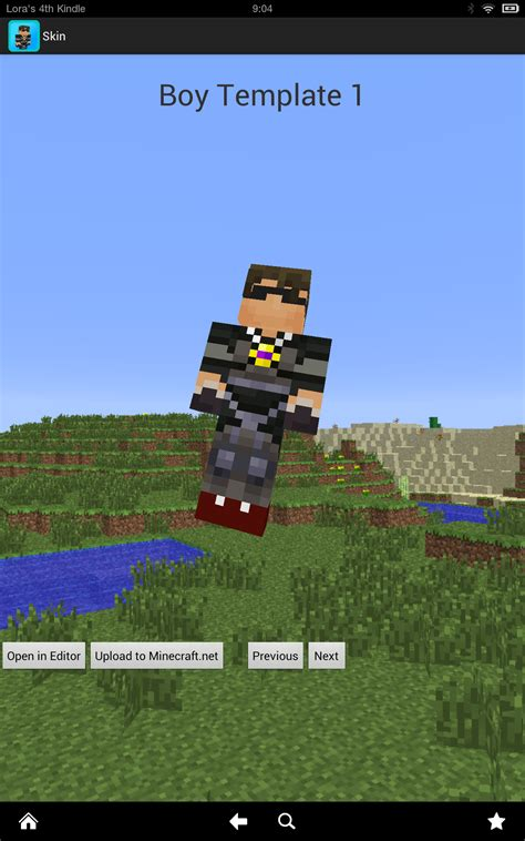 Boy Skins Deluxe for Minecraft(Kindle Fire HD): Amazon