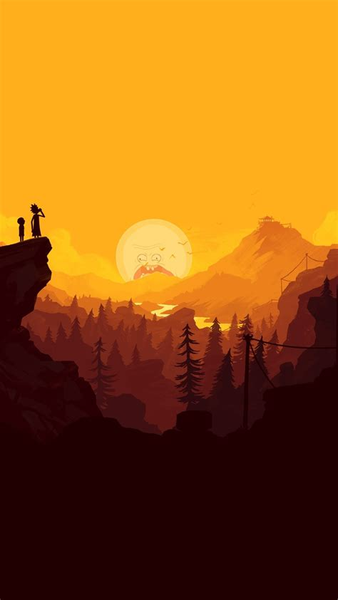 Rick And Morty In The Mountains, HD 4K Wallpaper
