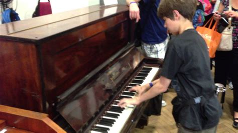 13 year old plays Lady Madonna in Abbey Road Studio 2 - on