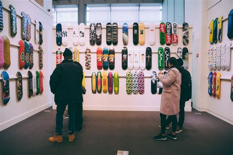 Sotheby's is auctioning a full set of Supreme Skateboards