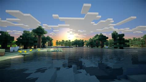 sunrise, Minecraft Wallpapers HD / Desktop and Mobile