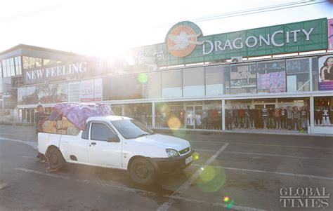 A look inside the Dragon City, a small commodity wholesale