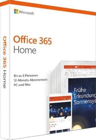Microsoft Office 365 Home (Officeprogramm, Download-Code