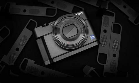Aluminum Metal Camera Skidproof Hand Grip For Sony RX100