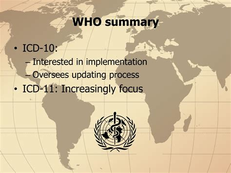 PPT - ICD International Classification of Diseases