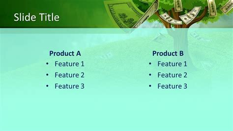 Free Money Tree PowerPoint Template - Free PowerPoint