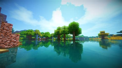 Minecraft, Shaders Wallpapers HD / Desktop and Mobile