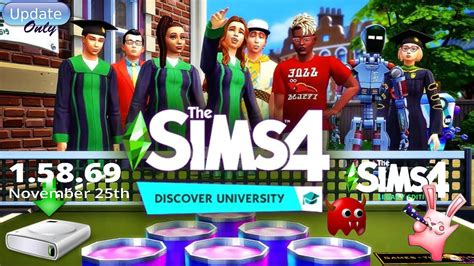 The Sims 4 Discover University November 25th Patch 1
