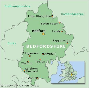 Bedford - only 50 miles north of London but we drove all
