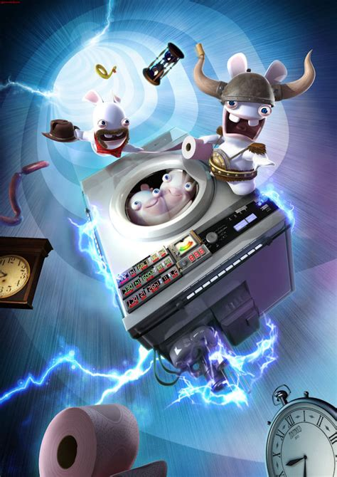 Raving Rabbids: Travel In Time announced for Wii