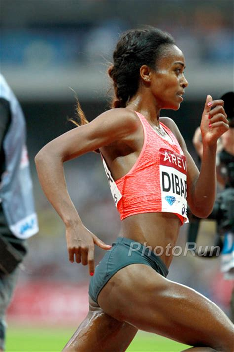 Genzebe Dibaba wants the 1,500 meter world record NOW