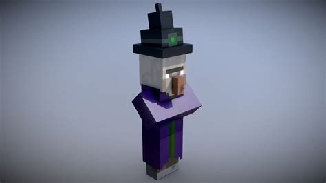 Minecraft - Witch - Download Free 3D model by Vincent