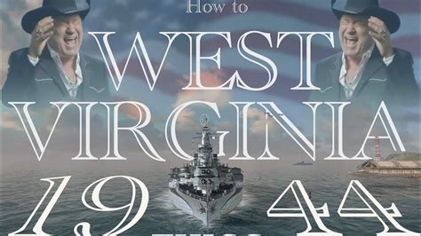 West Virginia 1944 review   World of Warships Blitz - YouTube