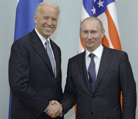 Joe Biden's Foreign Policy Strategy Includes Telling Putin