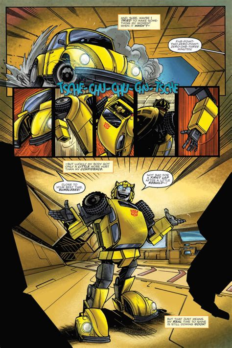 IDW Transformers: Bumblebee - Win If You Dare Graphic