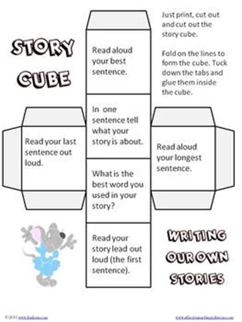 Story Cubes for Reading and Writing by Lisa Frase | TpT