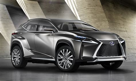 Lexus NX SUV previewed by radical concept - photos | CarAdvice