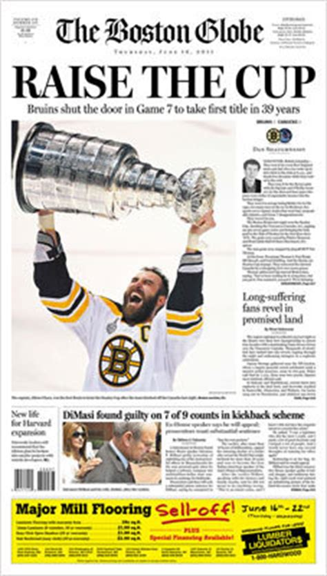 Bruins Stanley Cup coverage - Boston