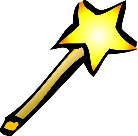 OnlineLabels Clip Art - Wand Icon