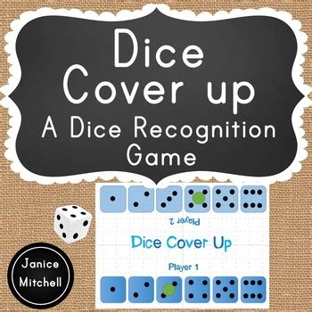 Dice Cover Up- A Dice Pattern Subitizing Game for