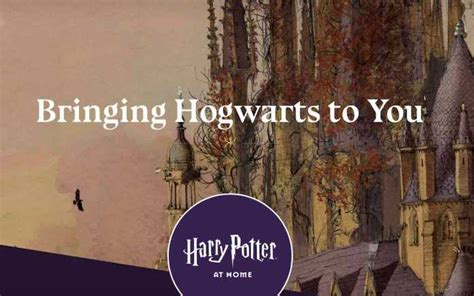 Harry Potter At Home: JK Rowling Introduces Free Magic For