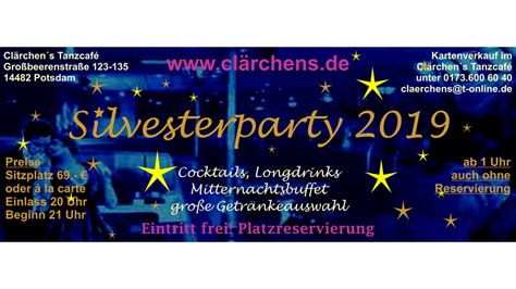 Silvesterparty 2019 | Partys | Events | HelloPotsdam