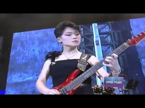 Moranbong Band Without A Break - Live - YouTube